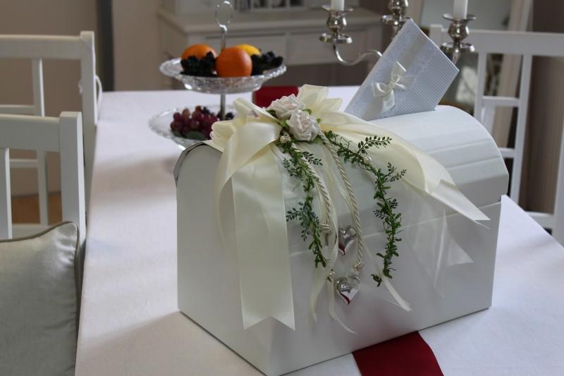 Briefbox creme hochzeit tischdeko geldgeschenke geld brautpaar tischdeko deko ebay - Tischdeko brautpaar ...