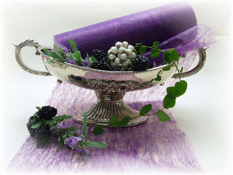 20m 23cm tischband lila vlies hochzeit tischdeko kommunion konfirmation deko ebay. Black Bedroom Furniture Sets. Home Design Ideas