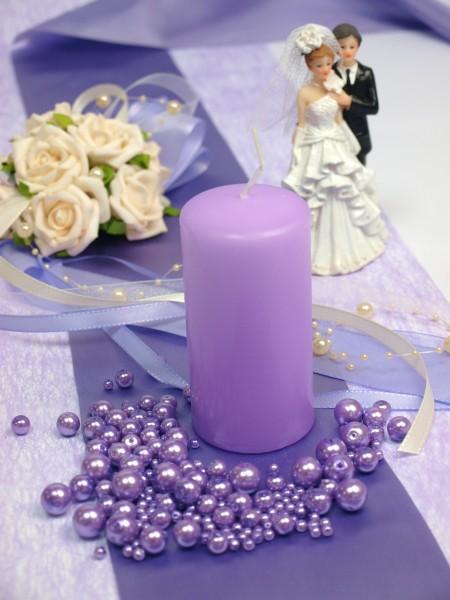 Tischdeko Hochzeit Lila Flieder Macburada
