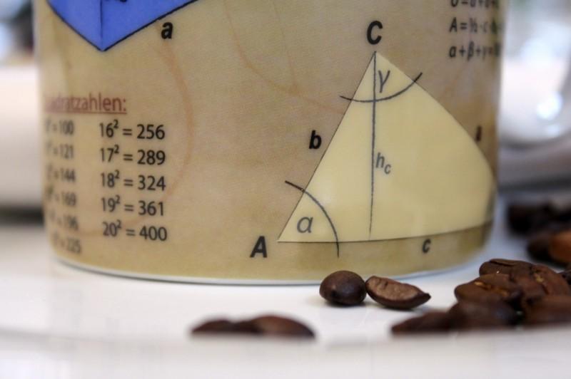 becher tasse mathematik kaffeetasse mann geschenk abitur. Black Bedroom Furniture Sets. Home Design Ideas
