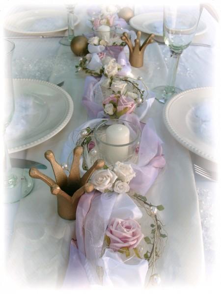 2m Gesteck rosa weiß Hochzeit Taufe Taufe Tischdeko Gestecke